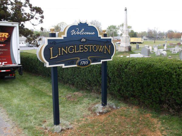 Stoner Graphix Custom Dimensional Post Signs, Harrisburg, Pa