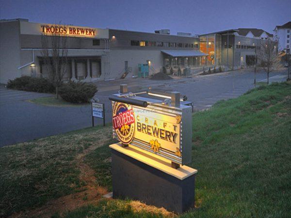Stoner Graphix Custom Exterior Illuminated Monument Sign, Harrisburg, Pa