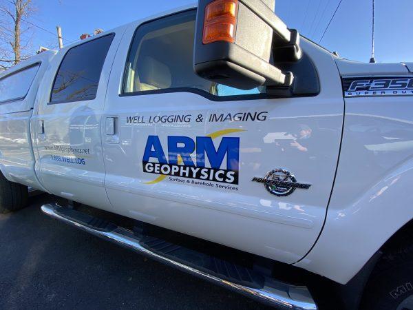 Truck Lettering, Stoner Graphix, Harrisburg Pa