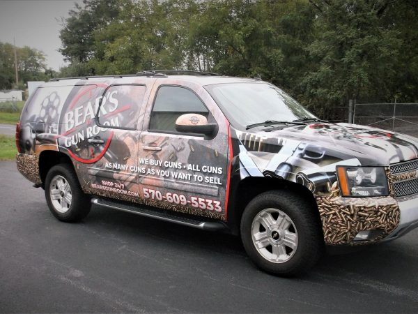Stoner Graphix Custom Truck Wraps, Harrisburg Pa