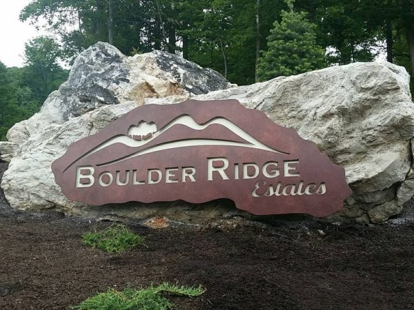 Stoner Graphix Metal And Rock Monument Sign Harrisburg, Pa
