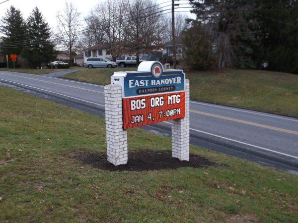 Stoner Graphix Illuminated Electronic Message Centers, Harrisburg, Pa