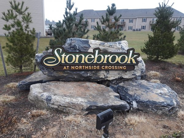Stoner Graphix Dimensional Monument Sign, Harrisburg, Pa