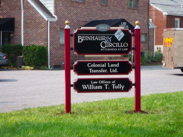 Stoner Graphix Exterior Pole Signs, Harrisburg, Pa
