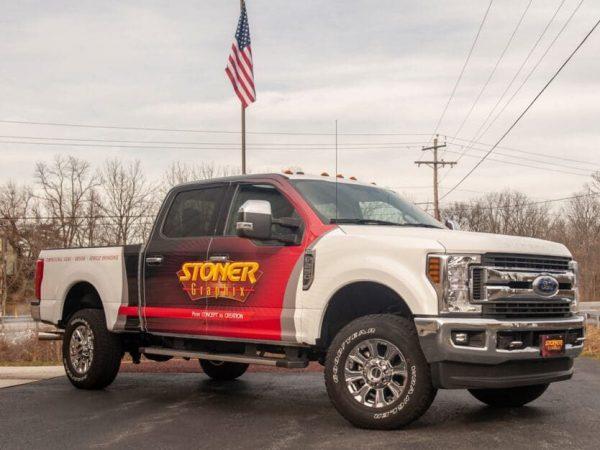 Stoner Graphix Custom Truck Wraps And Graphics Harrisburg Pa