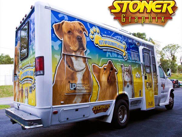 Stoner Graphix Custom Truck Wraps, Harrisburg, Pa